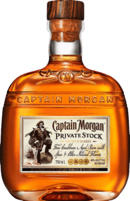 Medium captain morgan private stock