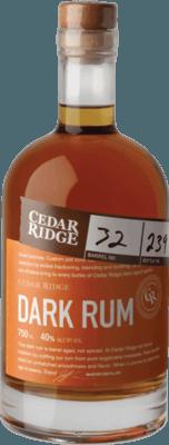 Cedar Ridge Dark rum