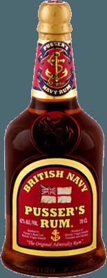 Medium pussers red label rum