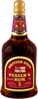 Small pussers red label rum