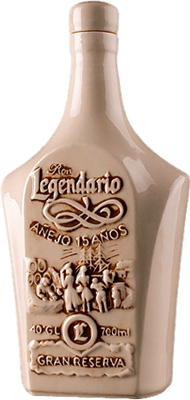 Medium legendario gran reserva 15 years rum