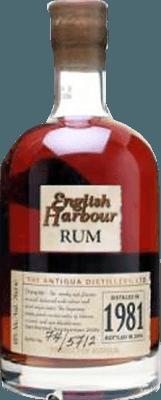 English Harbour 1981 25-Year rum