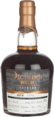Dictador 1972 Extremo Best of 45-Year rum