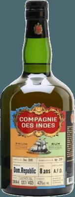 Compagnie des Indes 2010 Dominican Republic 8-Year rum