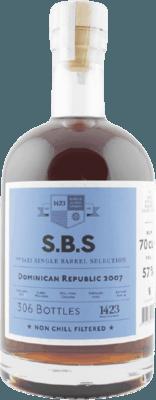 S.B.S. 2007 Dominican Republic 12-Year rum