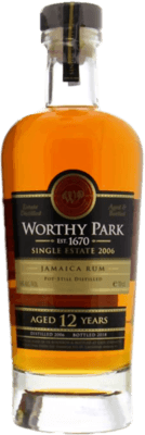 Worthy Park 2006 Single Estate 12-Year rum