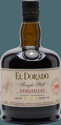 El Dorado 2006 Versailles Single Still 12-Year rum