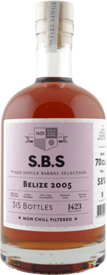 S.B.S. 2005 Belize 14-Year rum