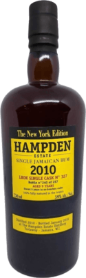 Hampden Estate 2010 New York Edition LROK Single Cask 9-Year rum