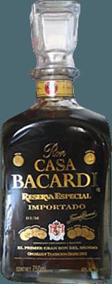 Bacardi Casa Reserva Especial rum