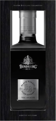 Medium bundaberg 2004 black barrel 10 year