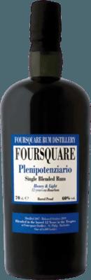 Foursquare 2007 Plenipotenziario Released by Velier 12-Year rum