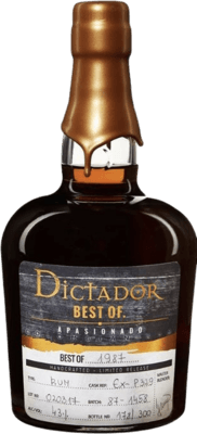 Dictador 1987 Best of Apasionado rum