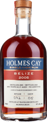 Holmes Cay 2005 Belize 15-Year rum