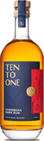 Small ten to one caribbean dark rum