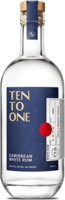 Small ten to one caribbean white rum