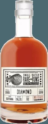Rum Nation 2005 Diamond Guyana 11-Year rum