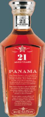Rum Nation Panama 21-Year rum