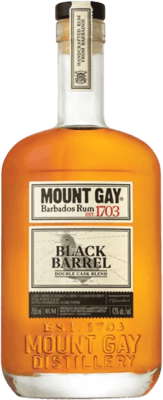 Mount Gay Black Barrel Double Cask 7-Year rum
