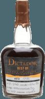 Dictador 1982 Best Of 33-Year rum