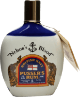 Pusser's 1992 Nelson's Blood Hip Flask 15-Year rum