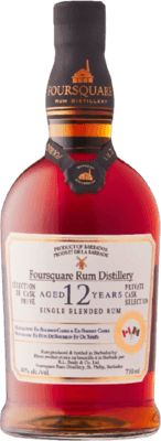 Foursquare Private Cask Selection Canada LCBO Exclusive 12-Year rum