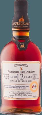 Foursquare Private Cask Selection Canada LCBO Exclusive 12-Year rum