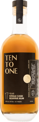 Ten to One Single Cask Reserve 17-Year rum