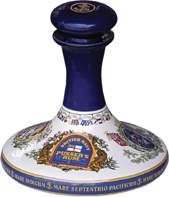 Pusser's Nelson's Ship's Decanter rum