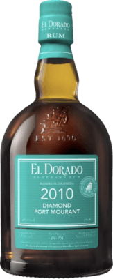El Dorado 2010 Diamond Port Mourant Green rum