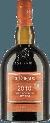 El Dorado 2010 Port Mourant Uitvlugt Orange rum