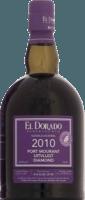 El Dorado 2010 Port Mourant Uitvlugt Diamond Violet rum