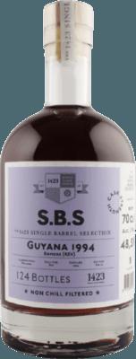S.B.S. 1994 Guyana Enmore (REV) 27-Year rum