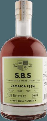 S.B.S. 1994 Jamaica New Yarmouth 26-Year rum