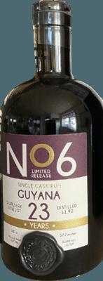 EKTE 1992 No 6   Guyana Uitvlugt Single Cask 23-Year rum