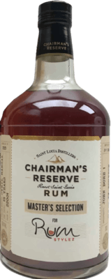 Chairman's 2001 Master's Selection for Rum Stylez 19-Year rum