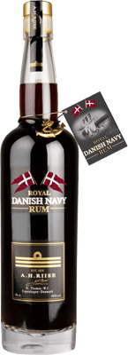 A. H. Riise Royal Danish Navy 40% rum