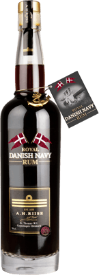 A. H. Riise Navy Strength 55% rum