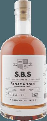 S.B.S. 2010 Panama Oloroso Cask Finish 9-Year rum