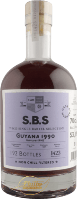 S.B.S. 1990 Guyana Uitvlugt (PM) 21-Year rum