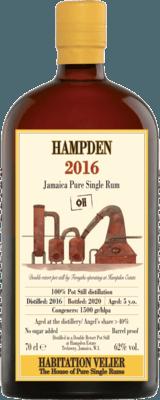 Habitation Velier 2016 Hampden 5-Year rum