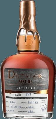 Dictador 1987 Best Altisimo 30-Year rum