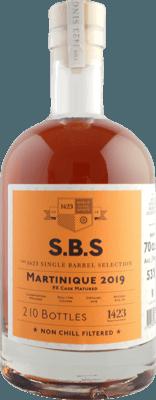 S.B.S. 2019 Martinique PX Cask Matured 1-Year rum