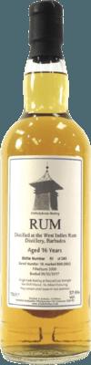 Whiskybroker 2000 West Indies Distillery Barbados Rockl 16-Year rum