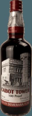 Medium cabot tower 100 proof rum orginal 400px