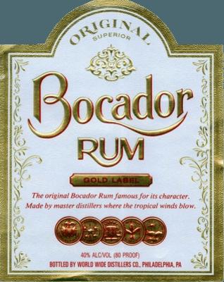 Bocador Gold rum