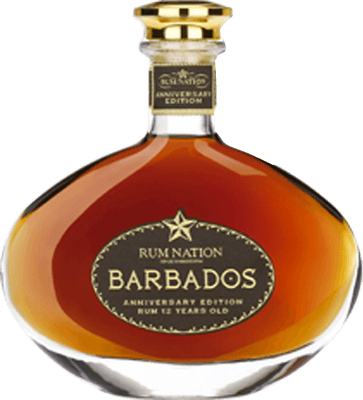 Rum Nation Barbados Anniversary 12-Year rum