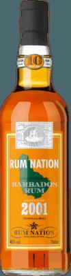 Rum Nation 2001 Barbados 10-Year rum
