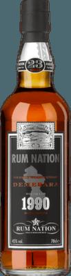 Rum Nation 1990 Demerara 23-Year rum