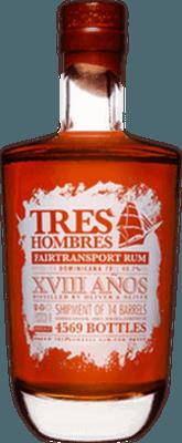 Tres Hombres 2014 Dominican Republic 28-Year rum